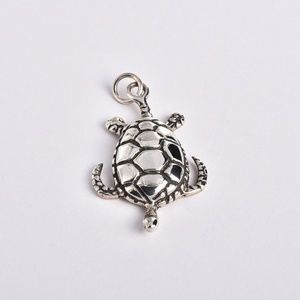 Sterling 925 Sea Turtle Pendant